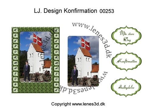 LJ. Design Konfirmation 00253