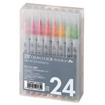 Zig clean color 24 stk